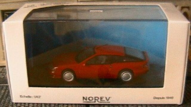 ALPINE RENAULT V6 TURBO ROUGE NOREV 517801 1/43 NEW RED ROSSO VEHICULE MINIATURE