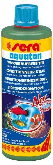 Sera Aquatan 500 ml Wasseraufbereiter + 50 ml florena Pflanzendünger