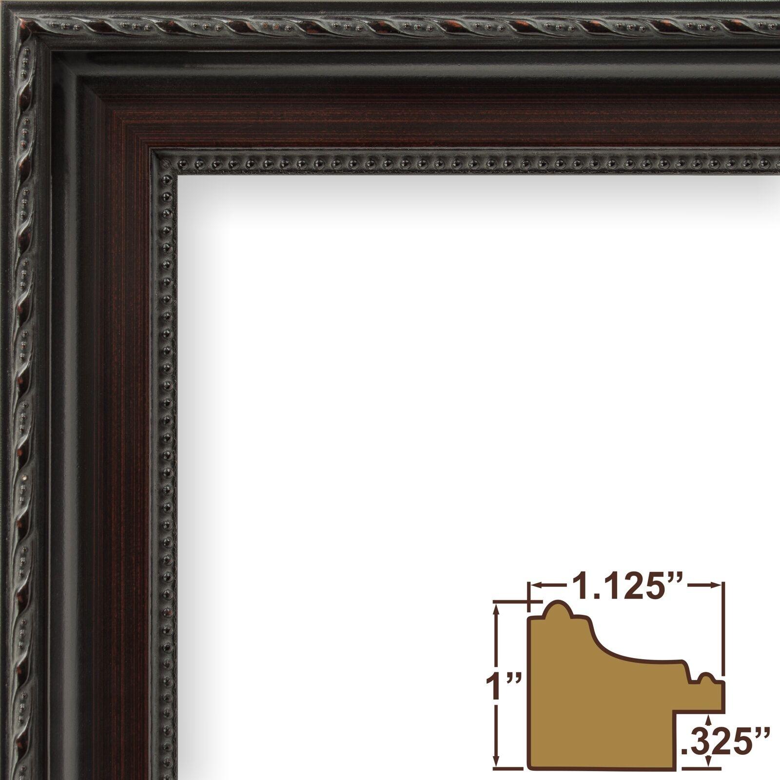 Craig frames annesbury queen ann dark walnut brown picture frame 1 picture 1 of 10 jeuxipadfo Gallery