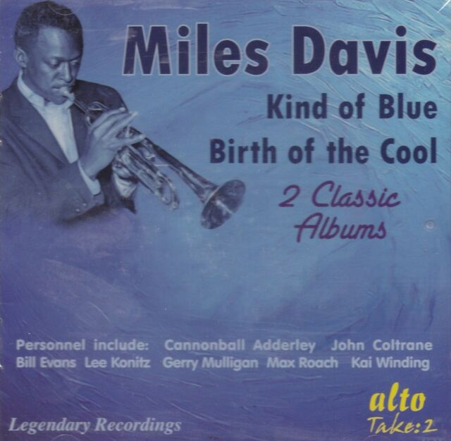 [NEW] CD: MILES DAVIS: KIND OF BLUE / BIRTH OF THE COOL