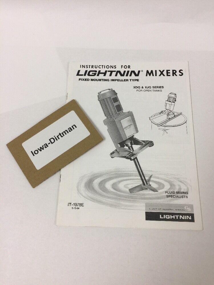 s l1600 lightnin mixer manual instructions for xdq & xjq portable mixers lightnin mixer wiring diagram at bayanpartner.co