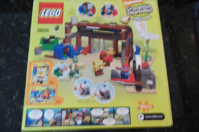Lego 3825 Spongebob Squarepants Krusty Krab NEW Sealed