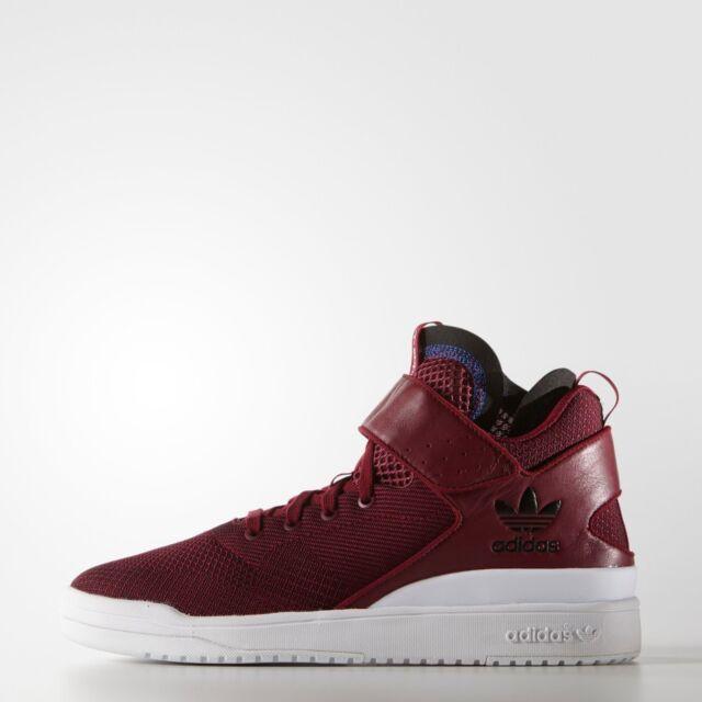 Adidas Men's VERITAS-X Basketball Shoes Burgundy S77632 a