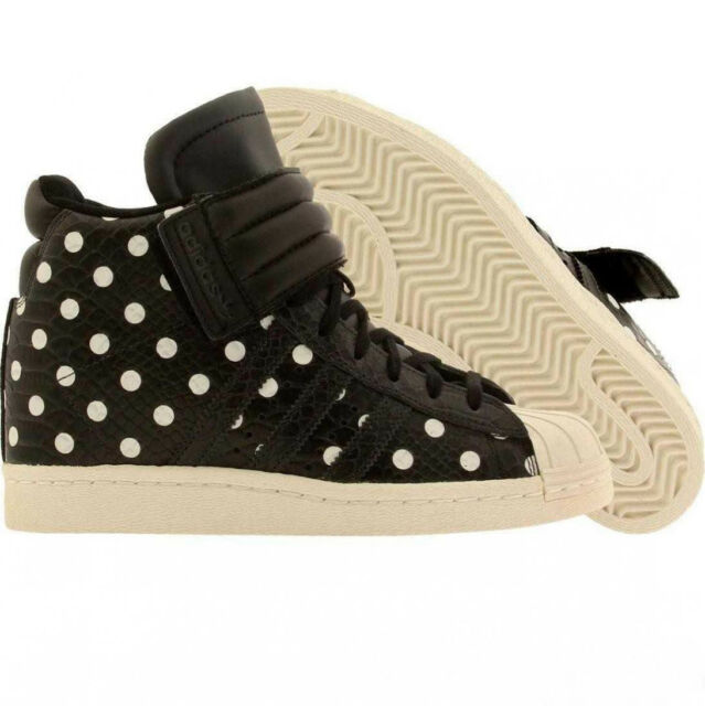 adidas superstar up strap polka dot