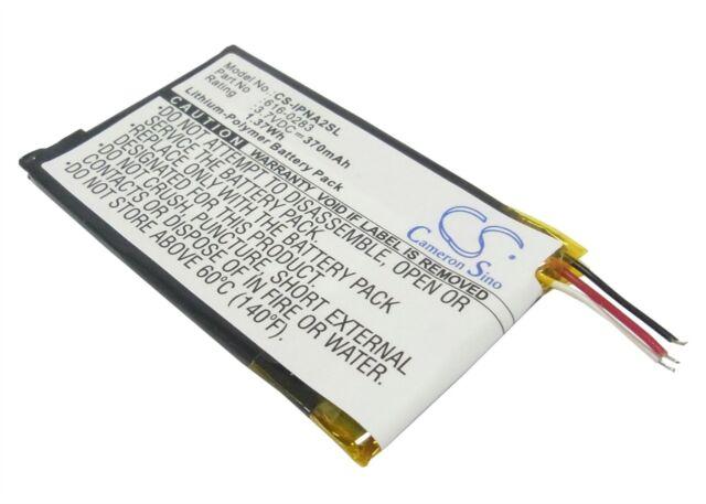 Battery suitable for Apple iPOD Nano G2 6GB, iPOD Nano G2 8GB, iPOD Nano