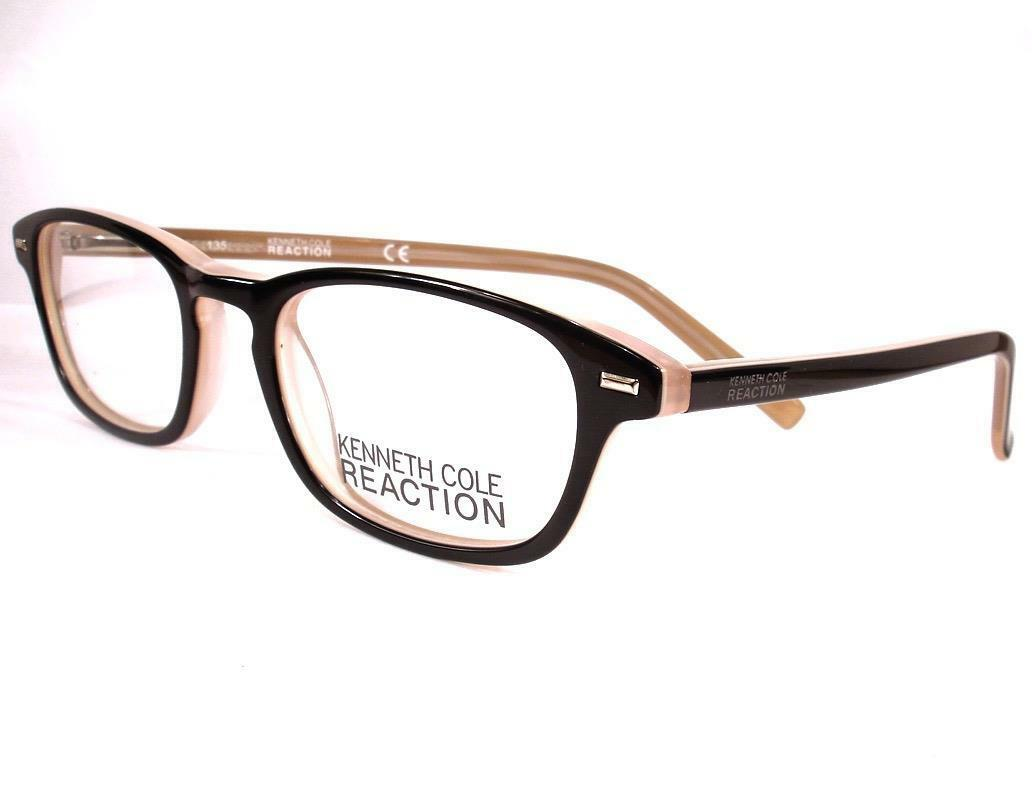 Kenneth Cole Reaction Kc0732 Acetate Frames-003 Eyeglasses Size 48 ...