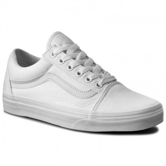 VANS OLD SKOOL SHOE ZAPATOS SKATE TRUE WHITE VN000D3HW00 PVP EN TIENDA 79EUR