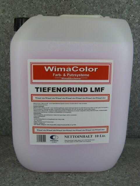 (1,05€/1l) WimaColor Tiefgrund LMF 20 l Tiefengrund Grundierung Hydrosol Profiwa