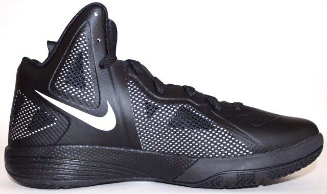 Nike Zoom Hyperfuse 2011 Tb Mens Basketball Shoes black/Black/white 454146  001