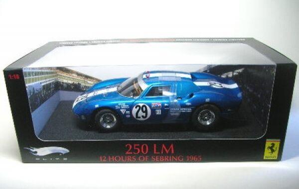 Ferrari 250 LM No. 29 12h Sebring 1965