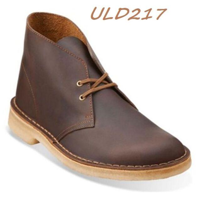 clarks originals mens core desert boot beeswax leather
