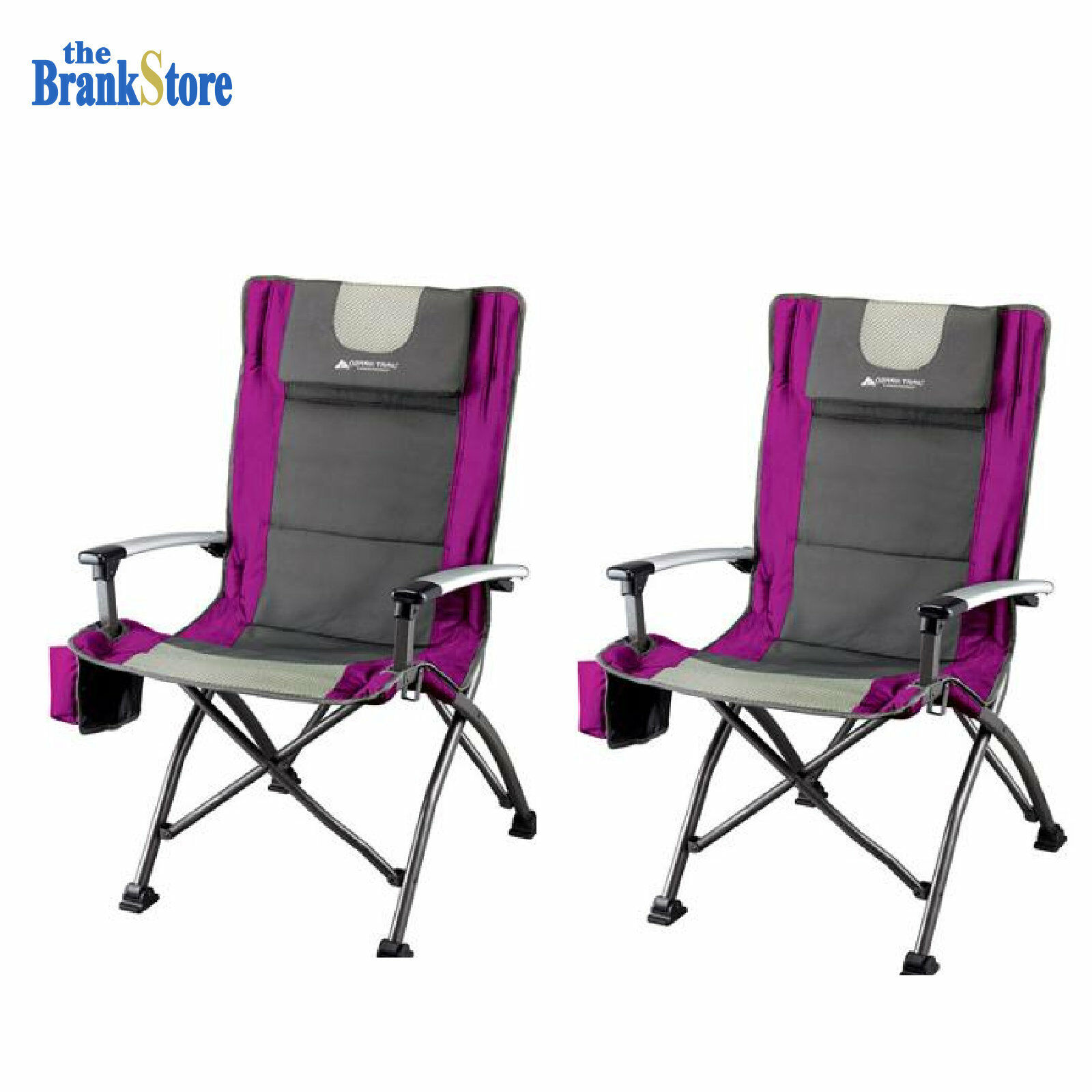 Ozark Trail High Back Folding Chair Portable Seat Outdoor Camping