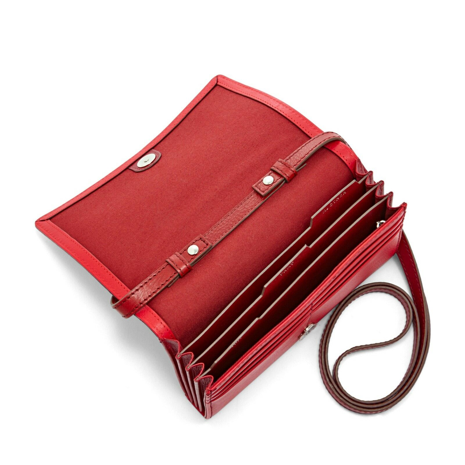 Fossil Emerson Large Trifold Camel Sl 6983235 Spec Dan Daftar Dawson Multifunction Black 6675001 Haven Brown Leather Triple Gusset Flap Clutch Wallet Women S Source Red