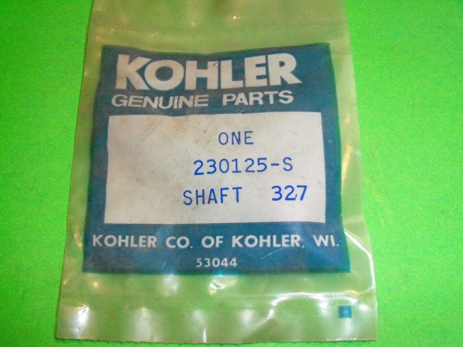 Genuine OEM Kohler Shaft Part# Koh 230125-s | eBay