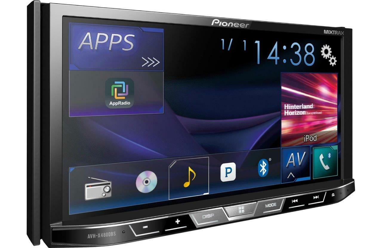 s l1600 pioneer avh x4800bs 2 din 7 dvd receiver ebay  at crackthecode.co