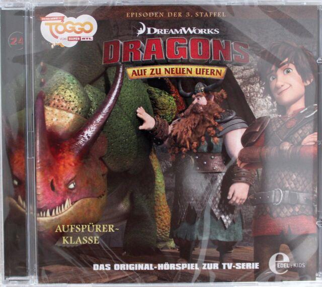CD - Dragons - Auf zu neuen Ufern - 24 - Aufspürer-Klasse - Hörspiel NEU