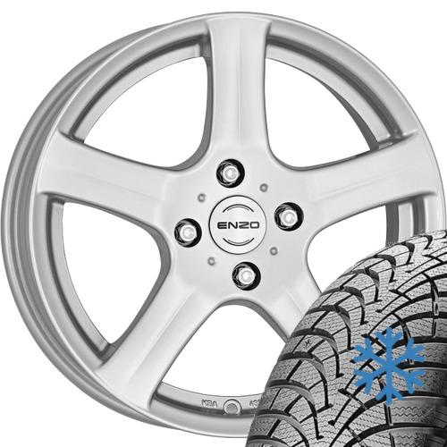 Alloy wheels KIA Rio DC 215/60 R17 96H Falken winter with rim 7.5x17.0 ET35