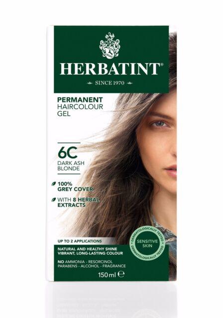 Top Herbatint Tinta per Capelli Naturale alle Erbe scuro cenere Biondo  VS31