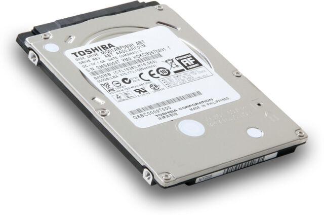 """DISCO DURO INTERNO 500GB TOSHIBA MQ01ABF050 2.5"""" SATA II -PC,PS3,PS4- Top Ventas"""