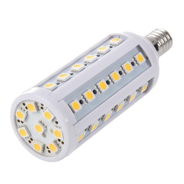 E14 9W 44 LED 5050 SMD Mais Lampe Leuchtmittel Birne Leuchte Licht warmweis O4J3