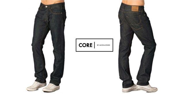 a86b505d Jack & Jones Mens Clark 008 Original Straight Leg Jeans Raw LOOK W34 ...