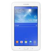 Samsung Galaxy Tab 3 Lite 8GB, Wi Fi, 7in  White