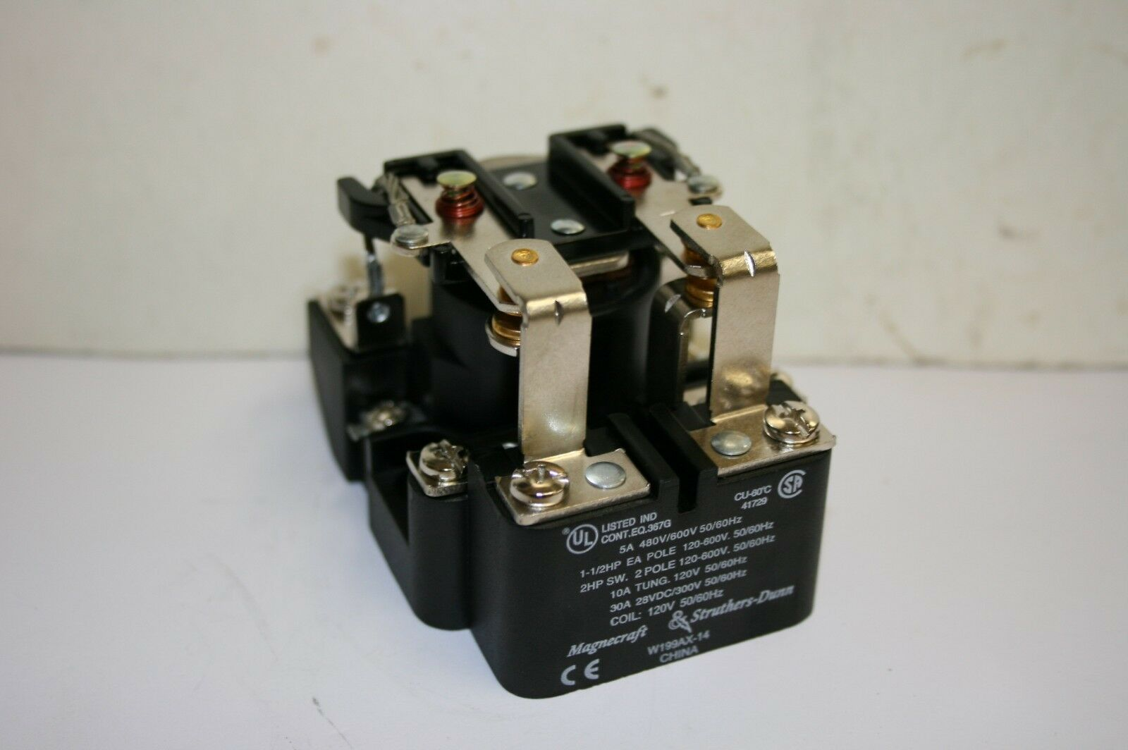 s l1600 30a dpdt relay ebay magnecraft relay wiring diagram at webbmarketing.co