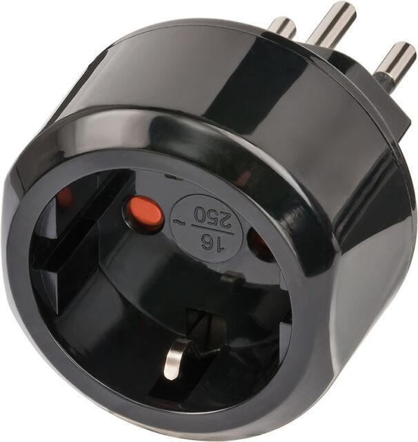 Reisestecker CH Schweiz EU Travel Reise Adapter Plug Stecker brennenstuhl