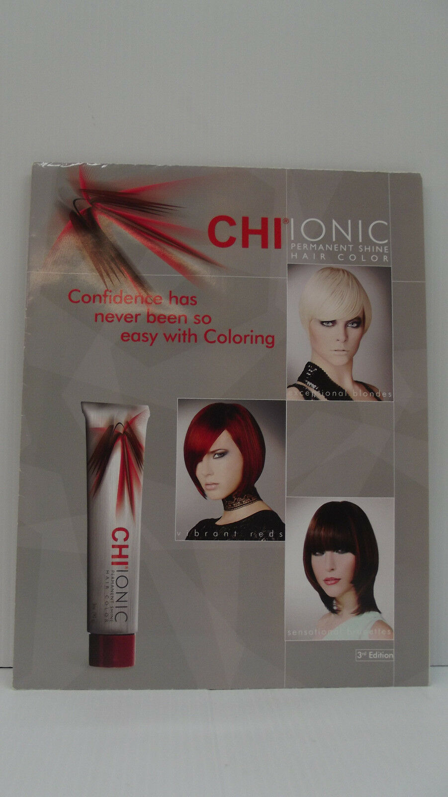 Chi ionic ammonia permanent hair color poster swatch chart for resntentobalflowflowcomponenttechnicalissues geenschuldenfo Images