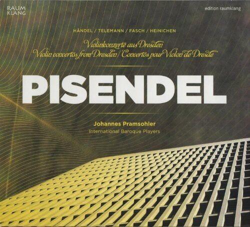 Johannes Pramsohler - Violin Concertos from Dresden [New CD]