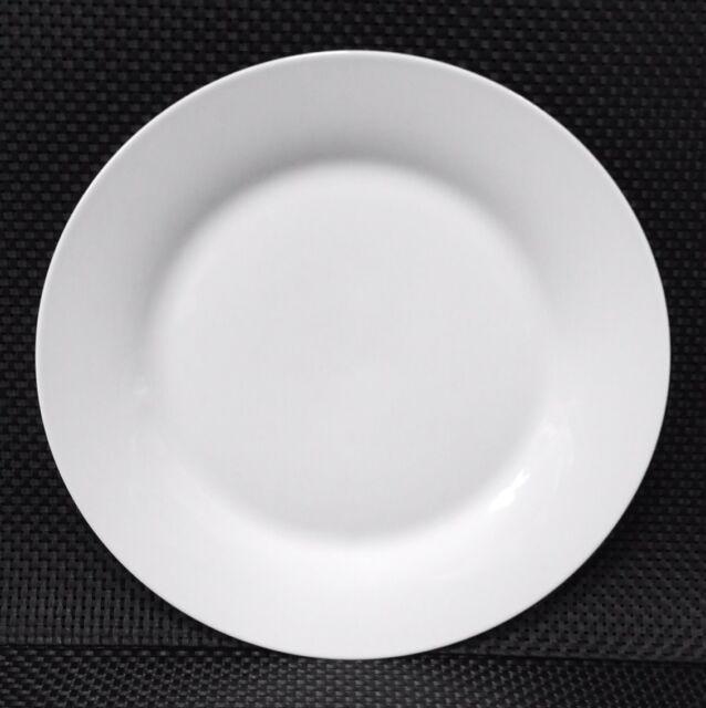 ANGEBOT 100X Teller flach Dessertteller  23cm Porzellan Top Für Imbiss Gastro