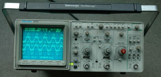 Best Tektronix Oscilloscope : Tektronix a mhz digital oscilloscope ebay
