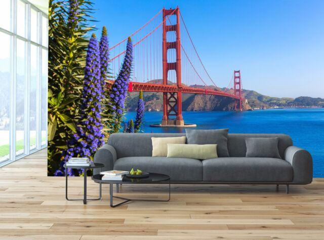 Golden Gate Bridge San Francisco Photo Wallpaper Decor Paper Wall Background