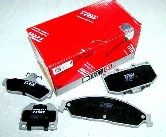 Mini Cooper R56 W/O Sports Suspen 06 on TRW Front Disc Brake Pads GDB1611 DB1782