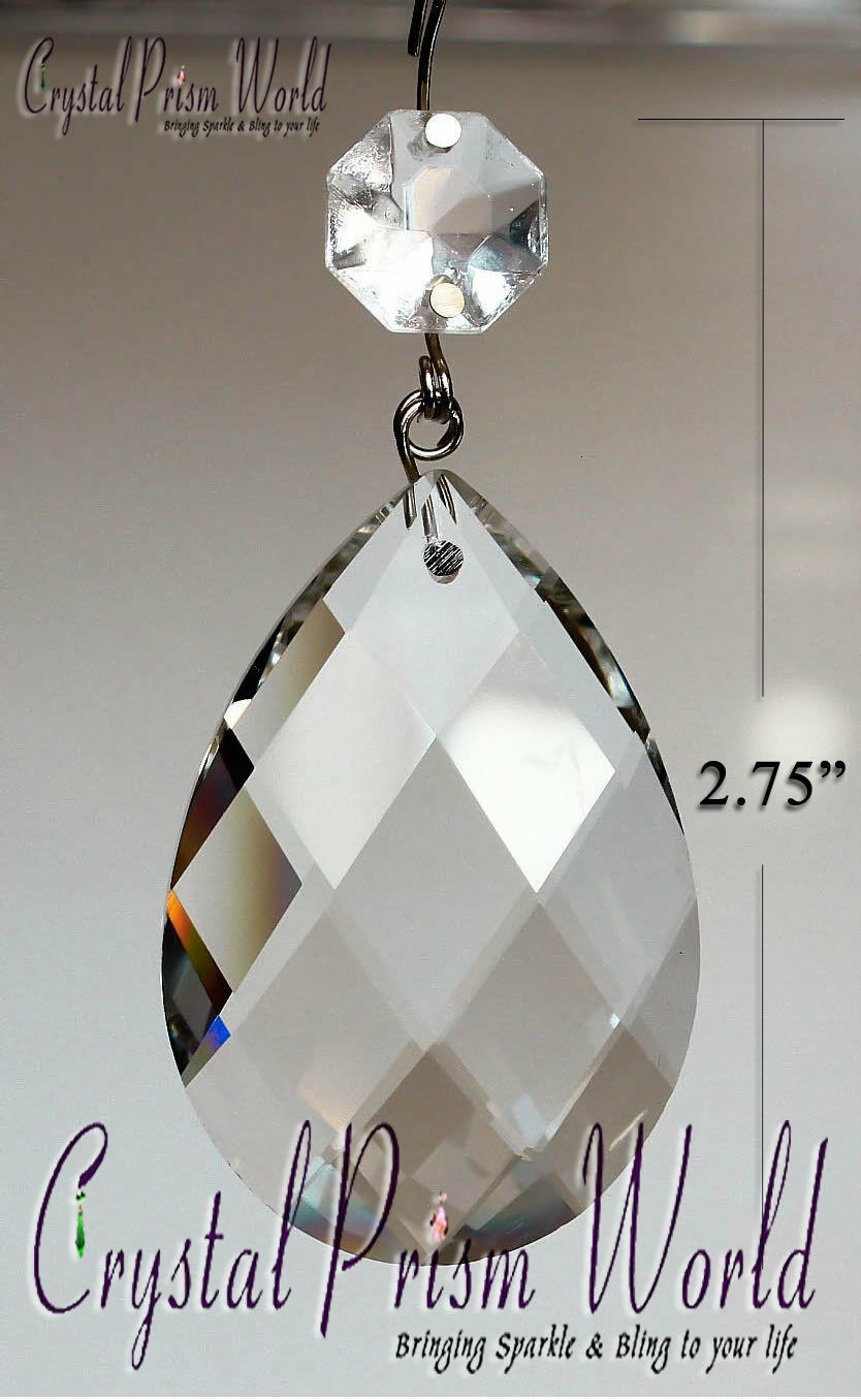 100pc chandelier replacement crystal glass hanging prism bulk picture 1 of 1 arubaitofo Gallery