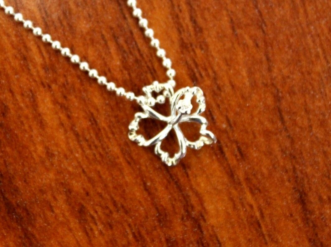 Hawaiian sterling silver outline hibiscus hawaii flower pendant picture 1 of 3 izmirmasajfo