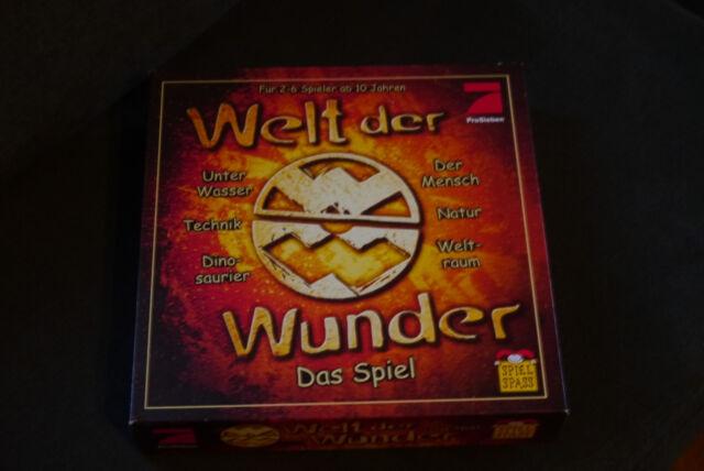 Welt der Wunder - Das Spiel WW - Quiz Wissen Familienspiel Lernspiel Ratespiel