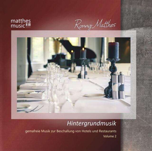 Hintergrundmusik, Vol. 2 [Lizenz zur Beschallung bis 1000m²] Gemafreie Musik CD