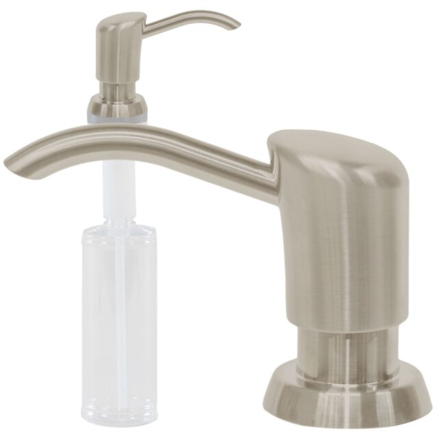 500ml Stainless Steel Soap Dispenser Polish Kitchen Sink Liquid ...