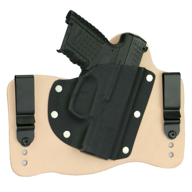 foxx leather kydex iwb hybrid holster walther pps m1 natural tan
