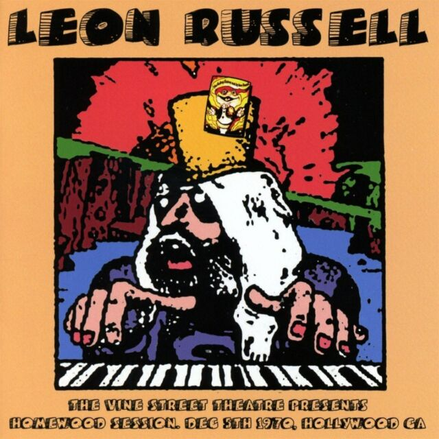 Leon Russell - Homewood Session, Dec 5th 1970 (2016)  CD  NEW/SEALED  SPEEDYPOST