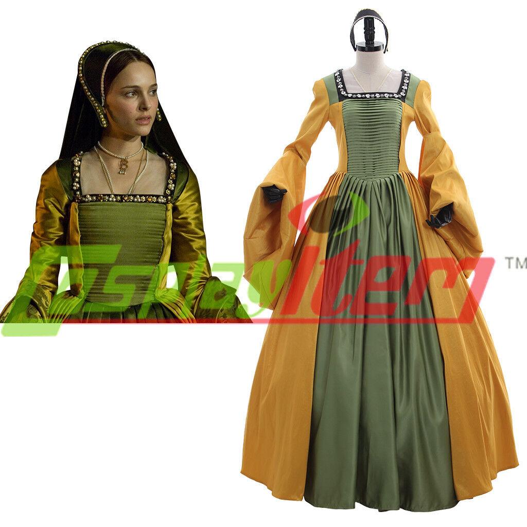 Queen Anne Boleyn Brown Renaissance Faire Tudor Court or Wedding ...