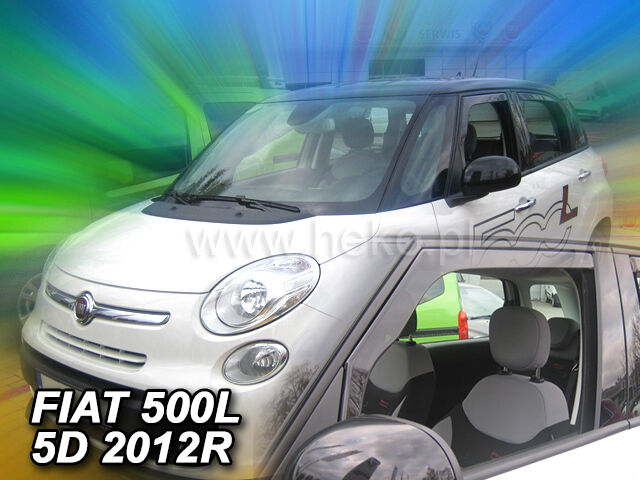 HEKO Windabweiser FIAT 500L 5türer ab 2012 2teilig Regenabweiser 15170