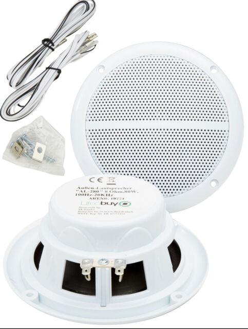 Wasserfeste 130mm Einbaulautsprecher Außen-Lautsprecher Sauna-Lautsprecher