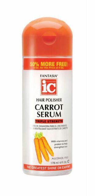 Fantasia hair polisher carrot growth serum 6 oz ebay sciox Images