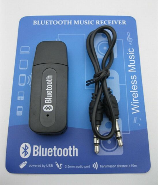 3.5mm USB Bluetooth Wireless Stereo Audio Music Receiver Adapter Dongle