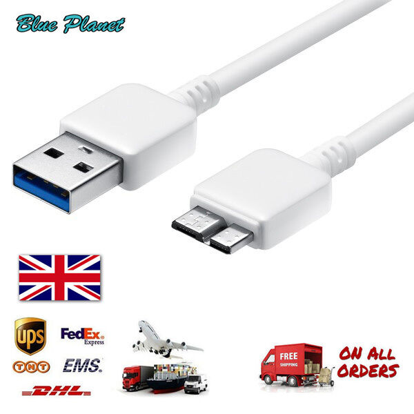 USB 3.0 TYPE A Male to B Micro Sync Data Power HDD Hard Disk Drive Cable Lead