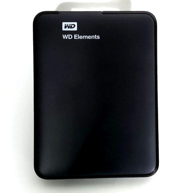 "WD Elements Portable 1TB USB 3.0 externe Festplatte 2,5"" (WDBUZG0010BBK)"