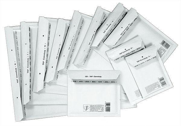 Versandtaschen Luftpolster Taschen G/7 100 Stück