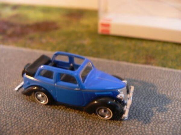 1/87 Busch Ford Eifel Cabriolimousine 1935 blau 41201